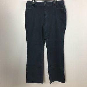 3786d65ec1585 Liz Claiborne Classic Bootcut Plus Stretch Jeans